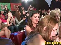 Amateur, Club, Orgy, Cfnm party dancing bear